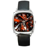 wallpaper_12280 Square Metal Watch