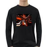 wallpaper_12280 Long Sleeve Dark T-Shirt