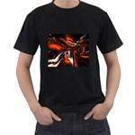 wallpaper_12280 Black T-Shirt