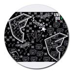 wallpaper_12647 Round Mousepad