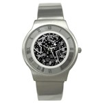 wallpaper_12647 Stainless Steel Watch
