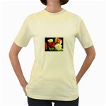 wallpaper_12974 Women s Yellow T-Shirt