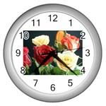 wallpaper_12974 Wall Clock (Silver)