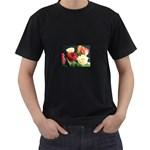 wallpaper_12974 Black T-Shirt
