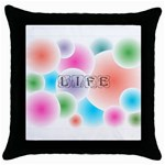 wallpaper_13078 Throw Pillow Case (Black)