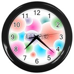 wallpaper_13078 Wall Clock (Black)