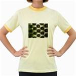 wallpaper_15632 Women s Fitted Ringer T-Shirt