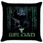 wallpaper_16954 Throw Pillow Case (Black)
