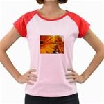 wallpaper_18294 Women s Cap Sleeve T-Shirt
