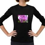wallpaper_19193 Women s Long Sleeve Dark T-Shirt