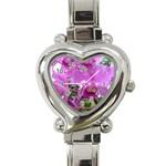 wallpaper_19193 Heart Italian Charm Watch