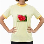 wallpaper_17044 Women s Fitted Ringer T-Shirt