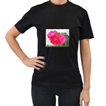 wallpaper_17044 Women s Black T-Shirt (Two Sides)