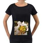 wallpaper_17805 Maternity Black T-Shirt