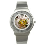 wallpaper_17805 Stainless Steel Watch