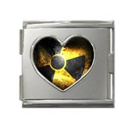 wallpaper_21592 Mega Link Heart Italian Charm (18mm)