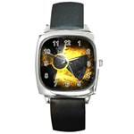 wallpaper_21592 Square Metal Watch