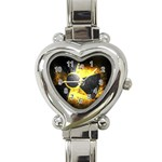 wallpaper_21592 Heart Italian Charm Watch