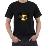 wallpaper_21592 Black T-Shirt (Two Sides)