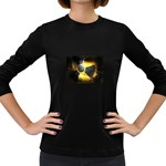 wallpaper_21592 Women s Long Sleeve Dark T-Shirt