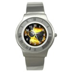 wallpaper_21592 Stainless Steel Watch