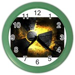 wallpaper_21592 Color Wall Clock