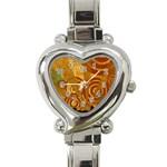 wallpaper_22315 Heart Italian Charm Watch