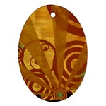 wallpaper_22315 Oval Ornament (Two Sides)