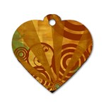 wallpaper_22315 Dog Tag Heart (One Side)