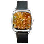 wallpaper_22315 Square Metal Watch