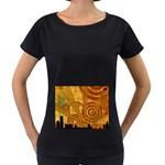 wallpaper_22315 Maternity Black T-Shirt