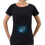 wallpaper_22774 Maternity Black T-Shirt
