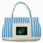 wallpaper_22774 Striped Blue Tote Bag