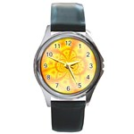 yellowdesign Round Metal Watch