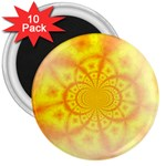 yellowdesign 3  Magnet (10 pack)