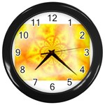 yellowdesign Wall Clock (Black)