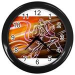 7 Wall Clock (Black)