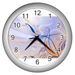 6 Wall Clock (Silver)