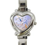 6 Heart Italian Charm Watch