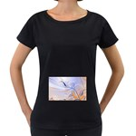 6 Maternity Black T-Shirt