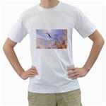 6 White T-Shirt