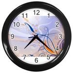 6 Wall Clock (Black)