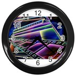 4 Wall Clock (Black)