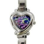 4 Heart Italian Charm Watch