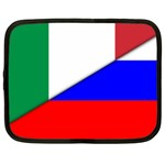 Italian & Russian Flag (diag) Netbook Case (Large)