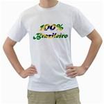 brazileiro White T-Shirt