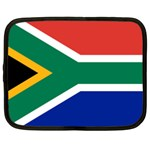 South African Flag Netbook Case (Large)