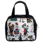 Paseo De Los Muertos Classic Handbag (Two Sides)