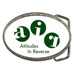A.I.R. Attitudes In Reverse Belt Buckle