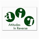 A.I.R. Attitudes In Reverse Postcards 5  x 7  (Pkg of 10)